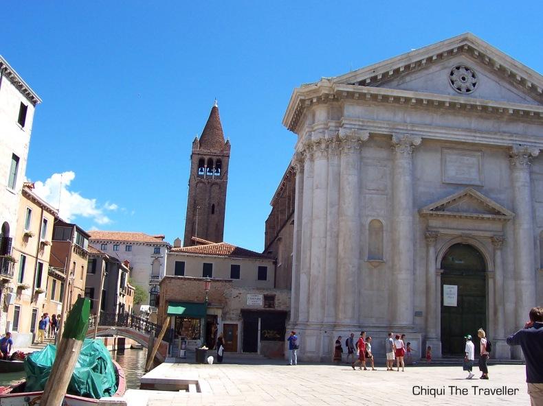 Venecia Iglesia de San Barnaba