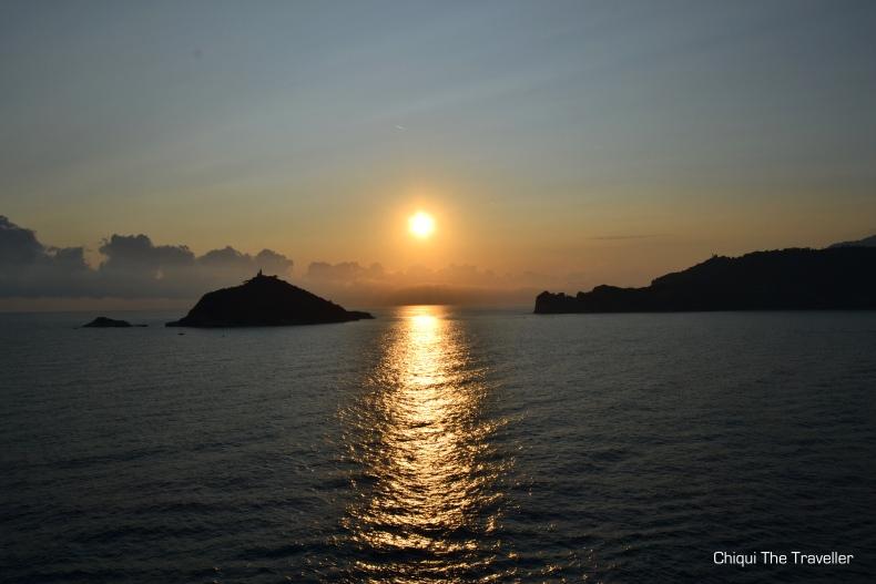 Isola Del Tino atardecer Portovenere