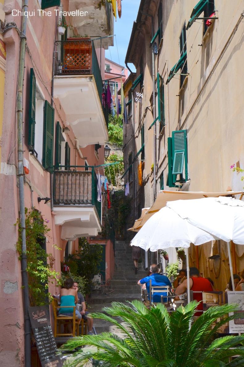 Monterosso al Mare callejuelas Cinqueterre 2