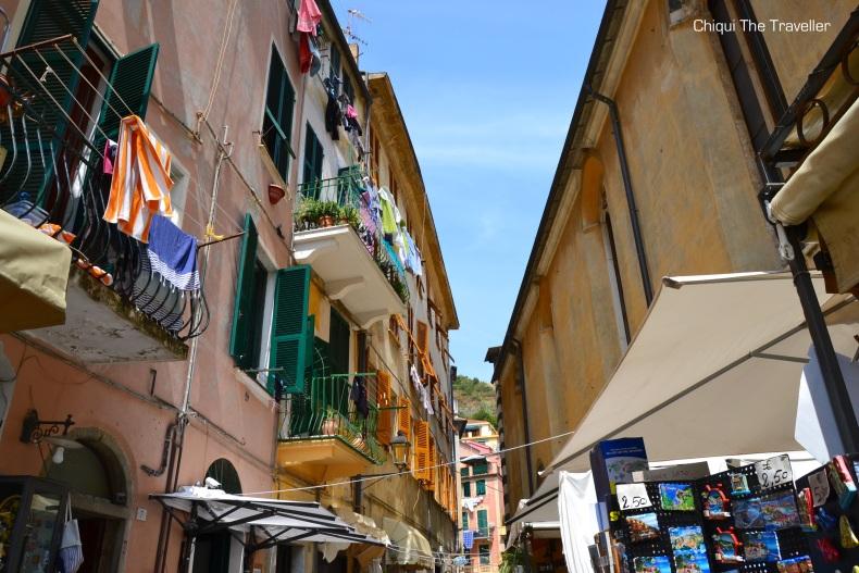 Monterosso al Mare callejuelas Cinqueterre