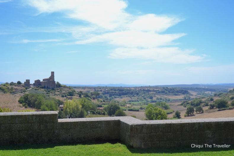 Tuscania paisaje