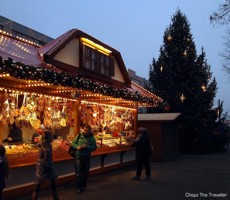 Mercadillo navideño Frankfurt Oder